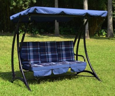 Fraser 3 Seater Garden Swing Chair