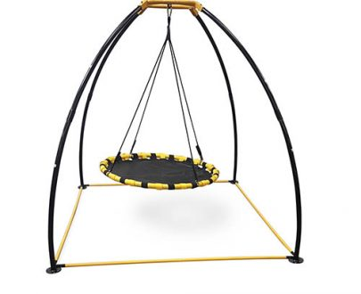 JumpKing UFO Swing Set