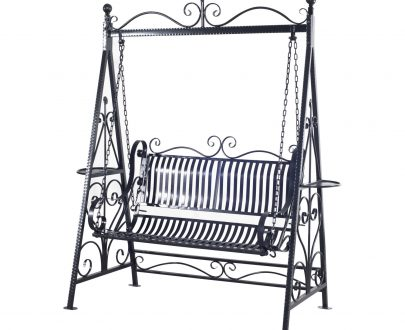 Outsunny Cast Iron Swing Chair 5055974800915