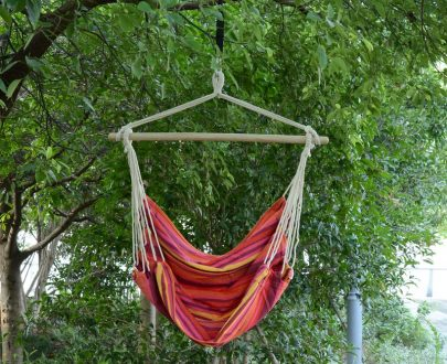 Outsunny Hammock Chair Hanging Swing Seat 5056029890417
