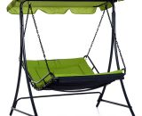Outsunny Swing Chair Hammock Seat-Green 5056029888209